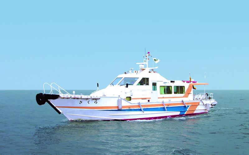 交通船 | 事業紹介 | 共和海建株式会社